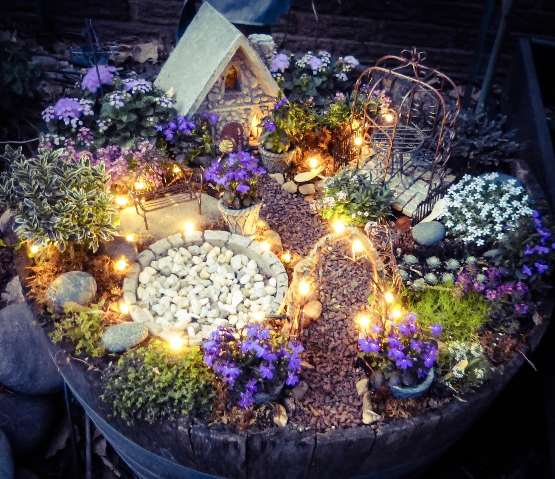 quality design 8586a a164f Magical Lights in the Fairy Garden | Little Tudor on the Prairie