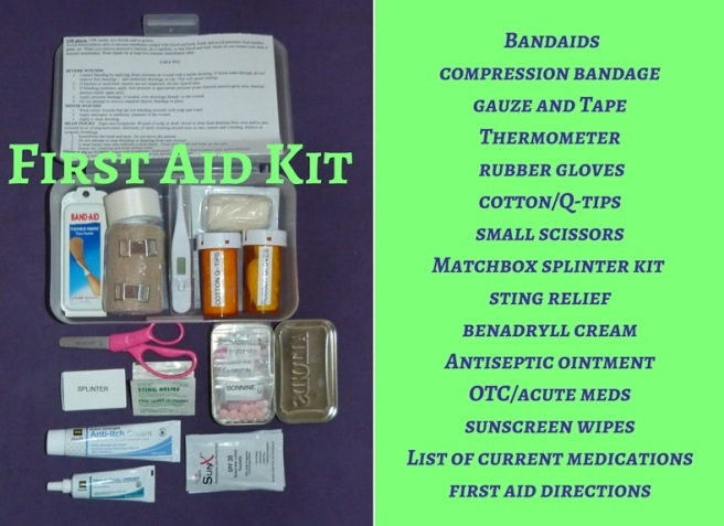 First Aid Kit canva