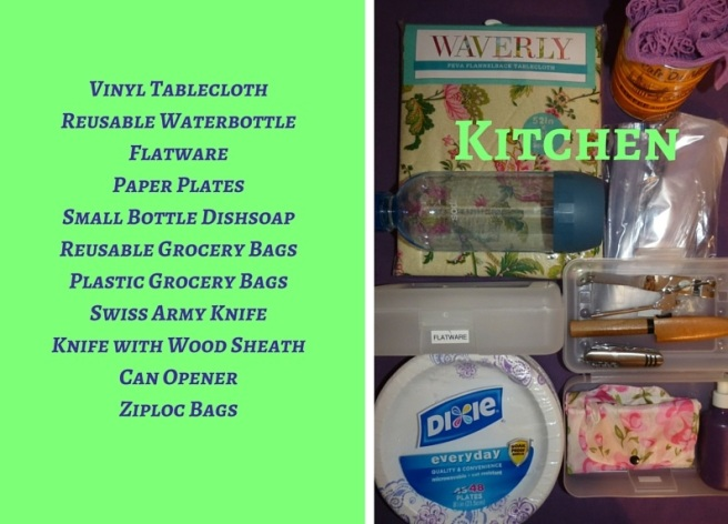 Kitchen with list