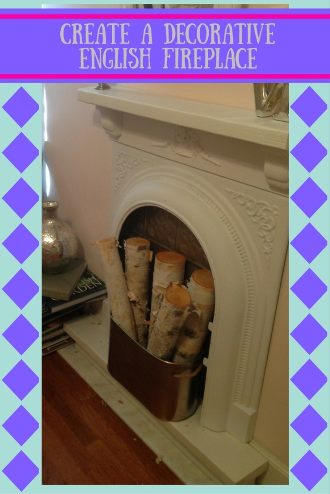 Create a Decorative English Fireplace